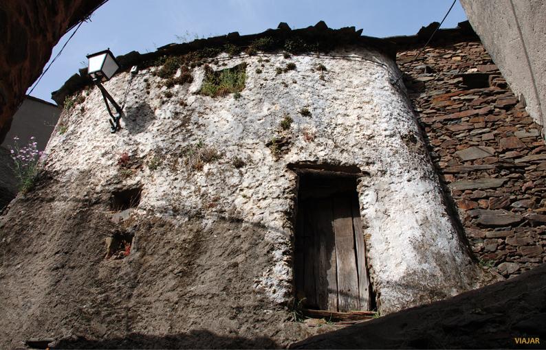 Típica casa hurdana en El Gasco