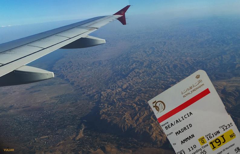 Volando rumbo a Jordania con Royal Jordanian