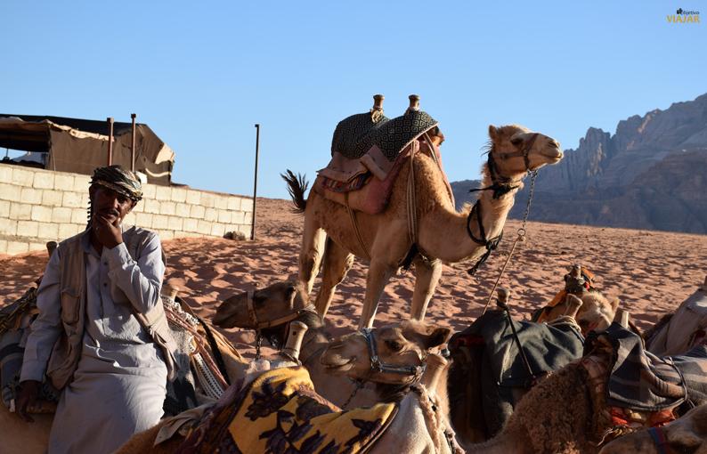 Los rostros del desierto de Wadi Rum. Jordania