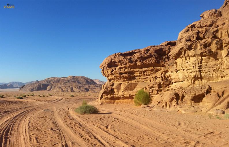 Wadi Rum. Jordania