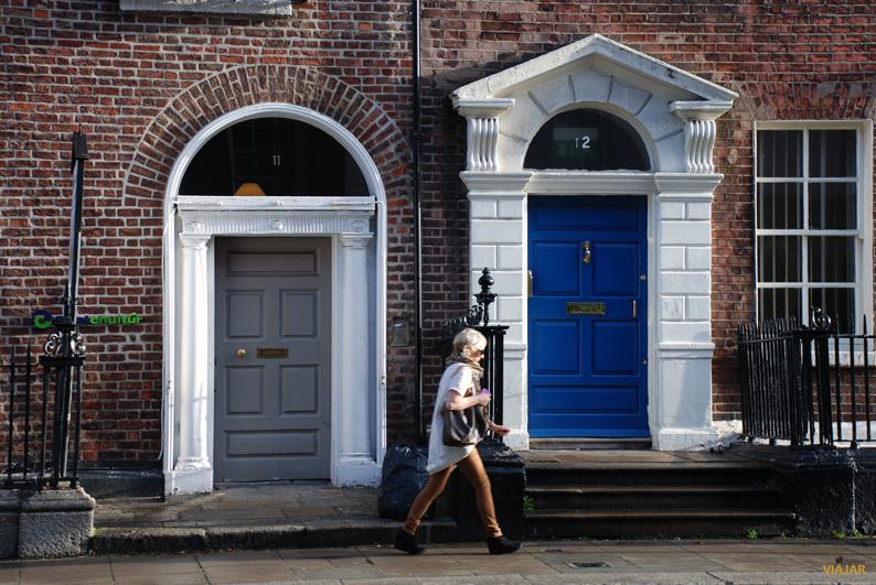 Casas georgianas en Dublín
