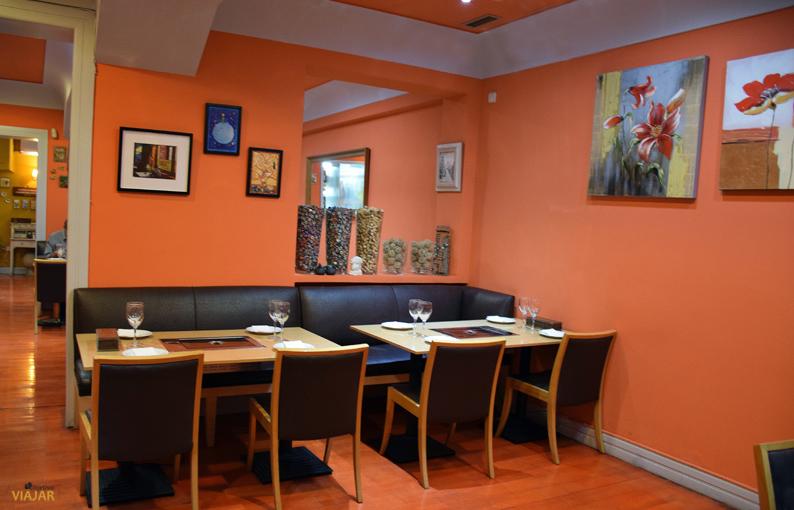 Comedor del restaurante Maru