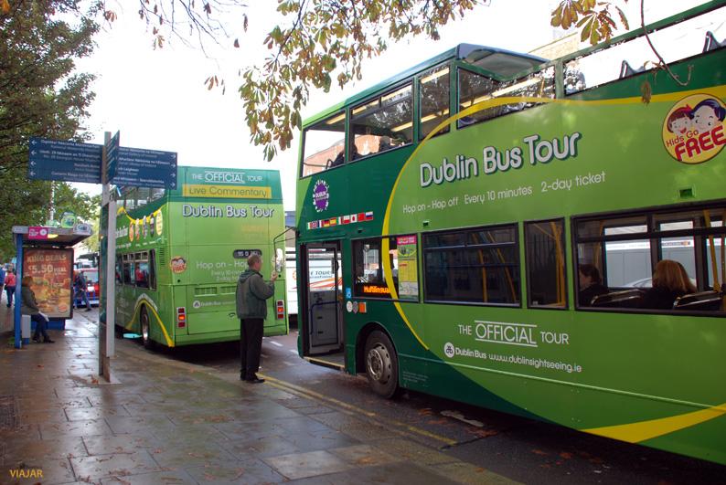 Dublin Bus Tour. Dublín