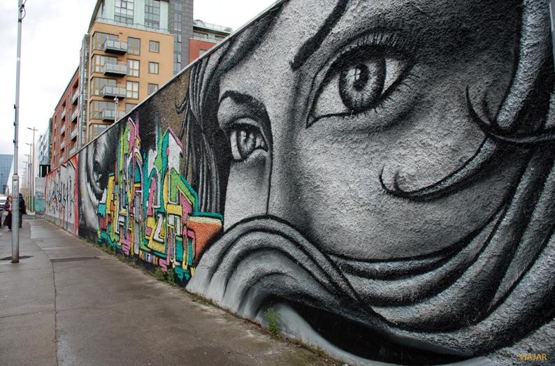 Grafittis en los alrededores de Windmill Lane
