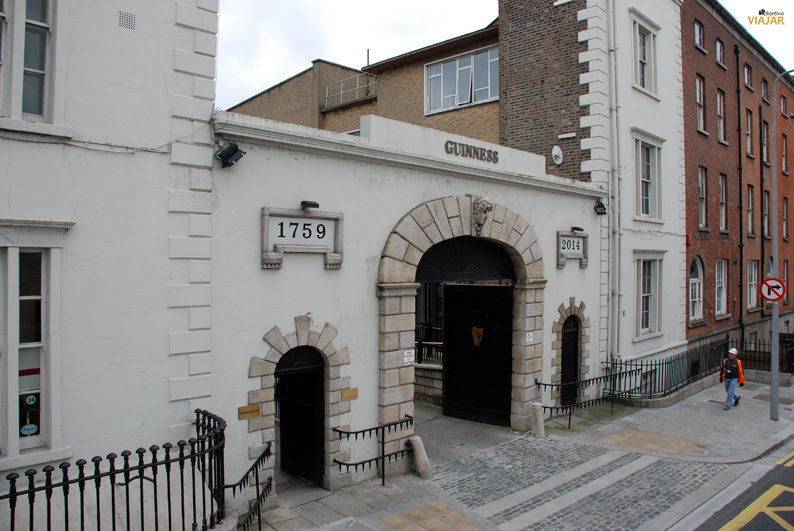 Guinness Storehouse. Dublín