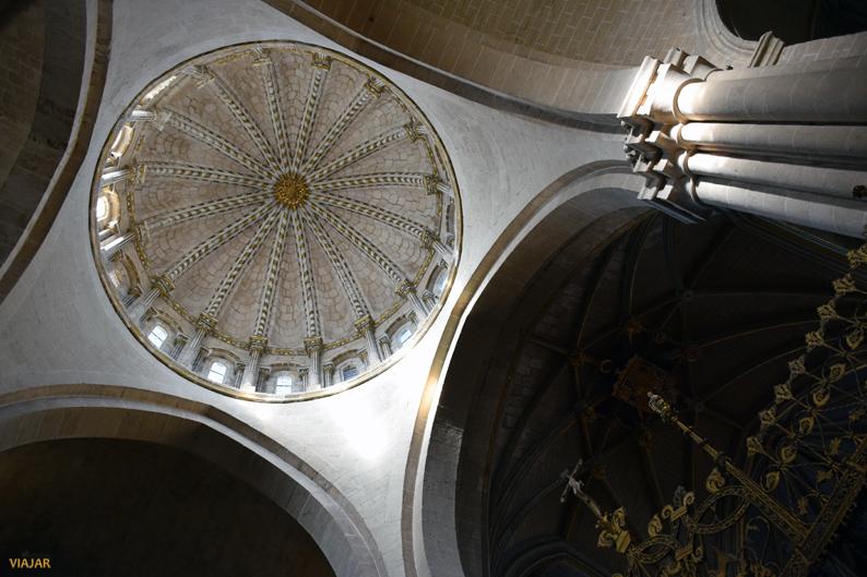 Interior de la cúpula de la Catedral de Zamora