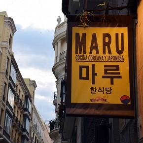 Restaurante Maru, sabores coreanos en el centro de Madrid