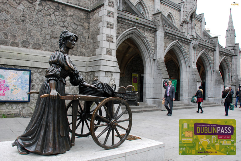 Moly Mallone y Visit Dublin Centre. Dublín