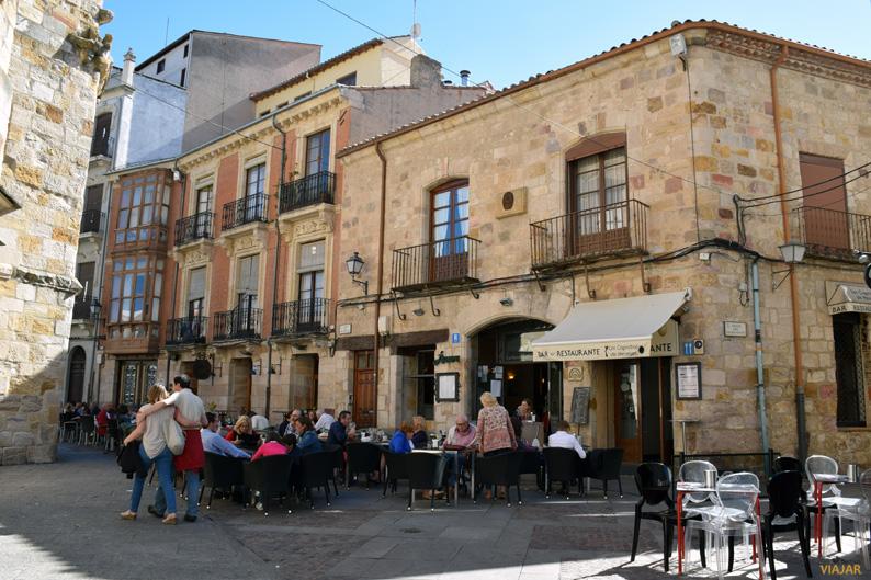Plaza San Miguel. Zamora