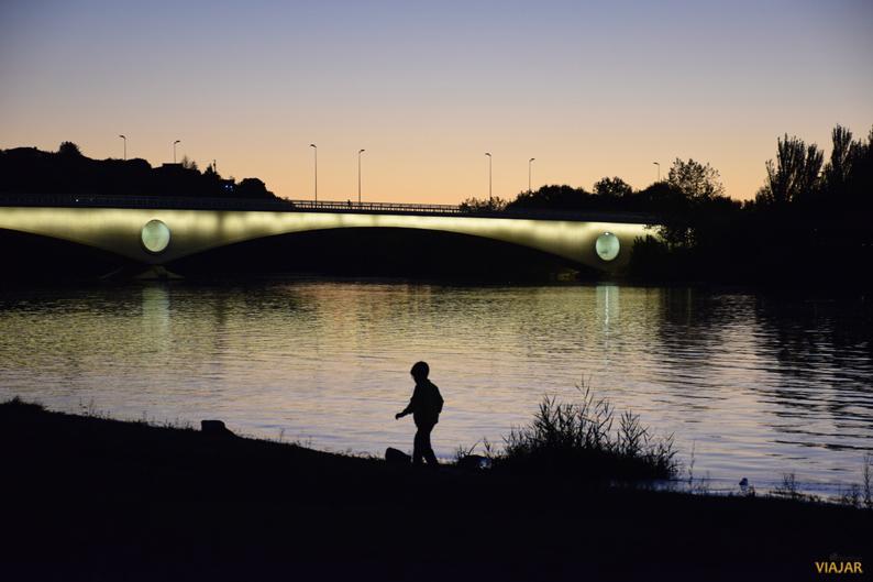 Puente de Los Poetas. Zamora