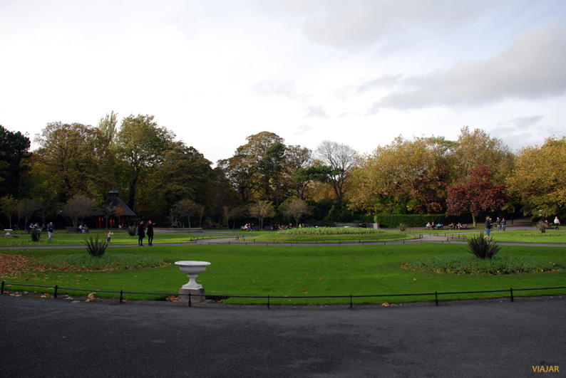 Saint Stephen's Green. Dublín