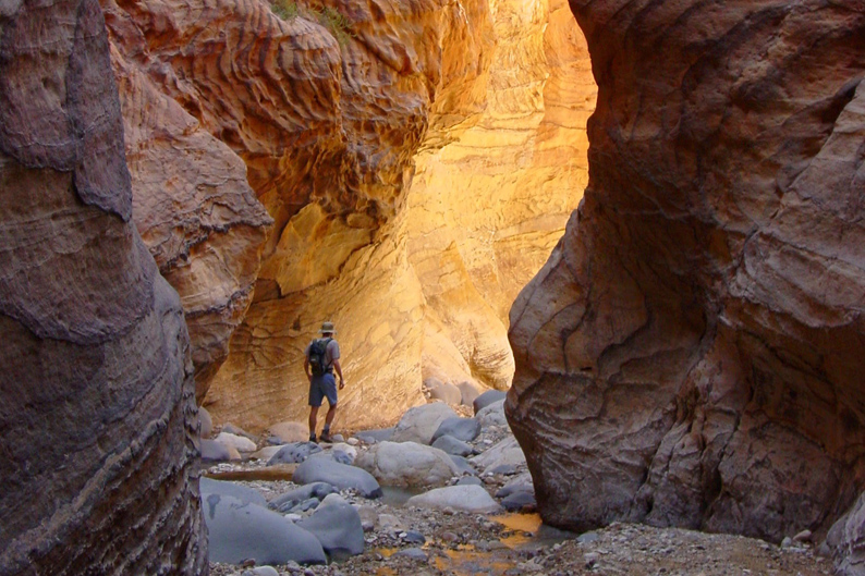 Wadi Ghwayr canyon © Feynan Ecolodge