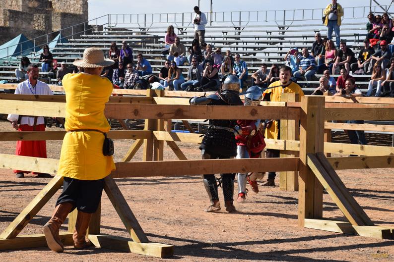 Duelo categoría femenina. I Torneo Internacional de Combate Medieval