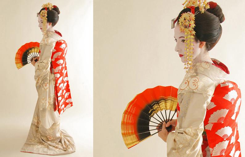 En la piel de una maiko. Japón
