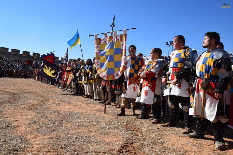 Equipos participantes en el I Torneo Internacional de Combate Medieval