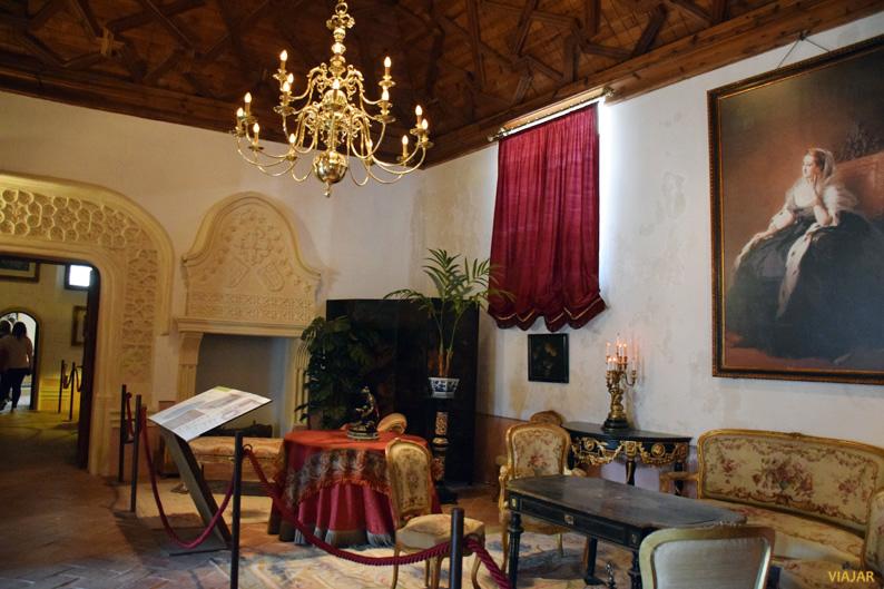 Estancias de Eugenia de Montijo. Castillo de Belmonte