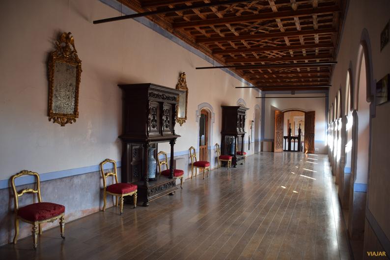 Galería del castillo de Belmonte