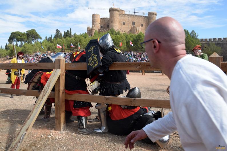 Luchas reales en el I Torneo Internacional de Combate Medieval