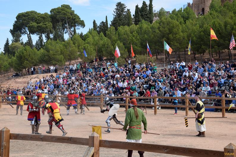 Melé. I Torneo Internacional de Combate Medieval
