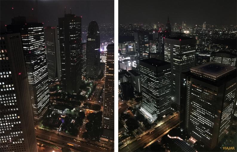 Vistas de Tokio desde la sede del Gobierno Metropolitano