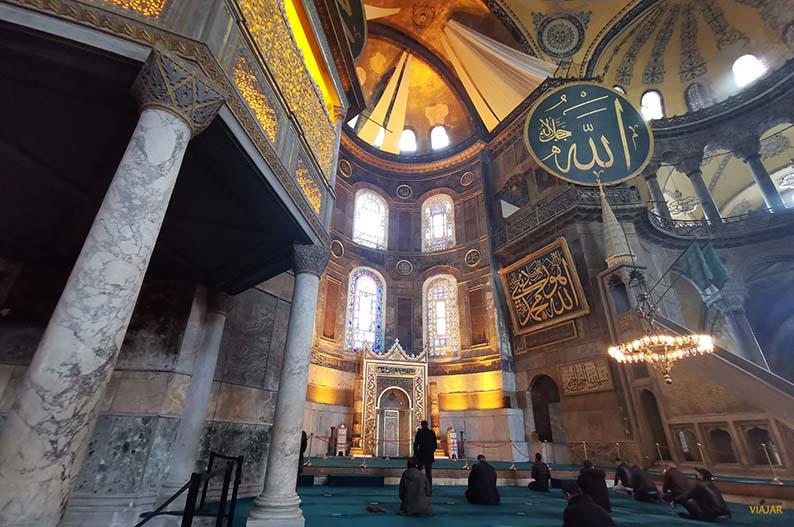 La mezquita de Hagia Sophia
