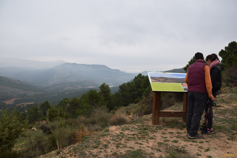 Mirador de Mingarnao, Nerpio. Sierra del Segura