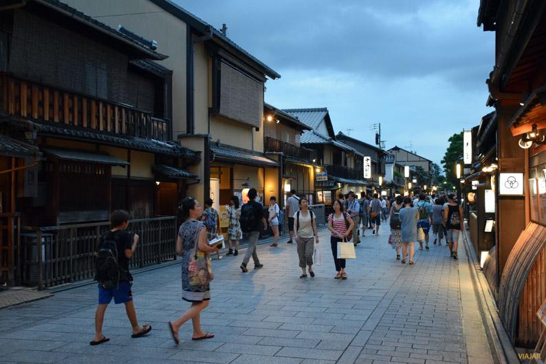 Paseando por Gion, Kioto