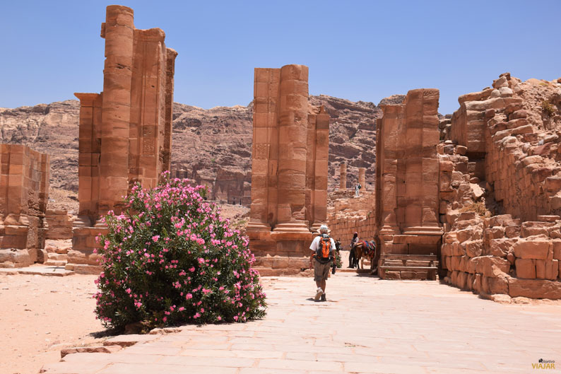 Puerta de Temenos. Petra. Jordania