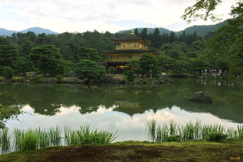 Templo Kinkaku-ji, Kioto, Japón