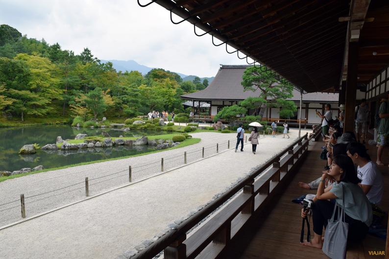 Templo Tenryu-ji. Kioto. Japón