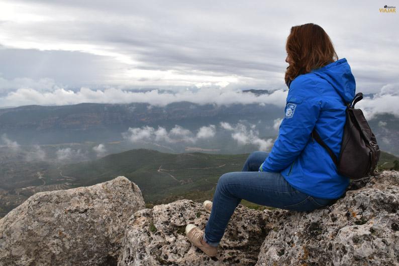 Vistas de la comarca de la Sierra del Segura desde la Microreserva del Monte Ardal
