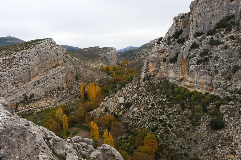 Vistas desde el Castillo de Taibilla, Nerpio. Sierra del Segura