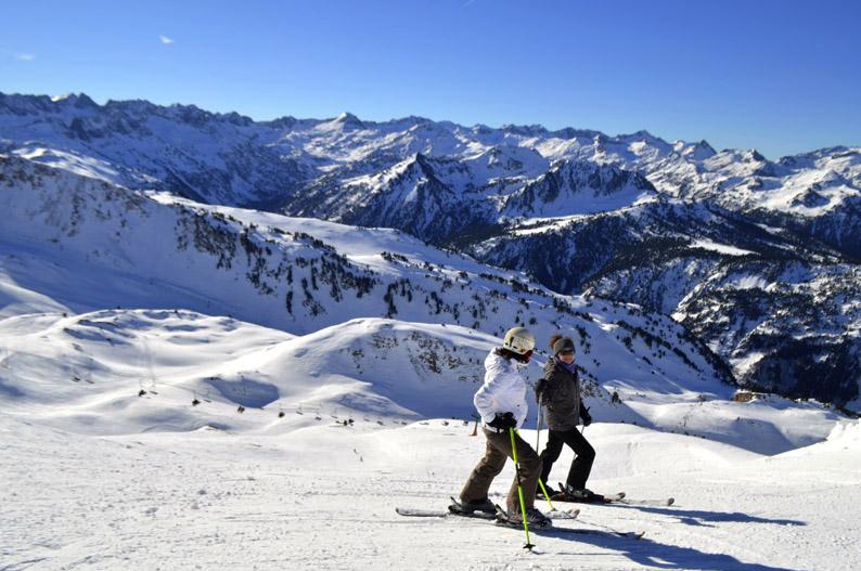 Esquiar en Cataluña. Baqueira Beret