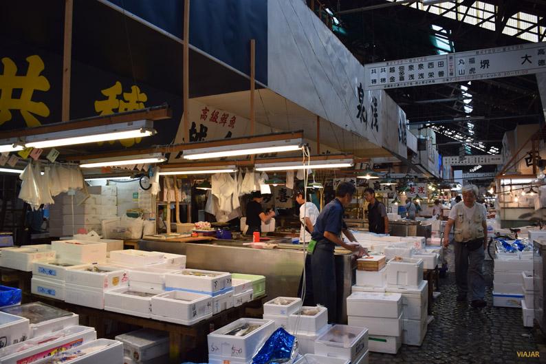 Mercado Tsukiji, Tokio
