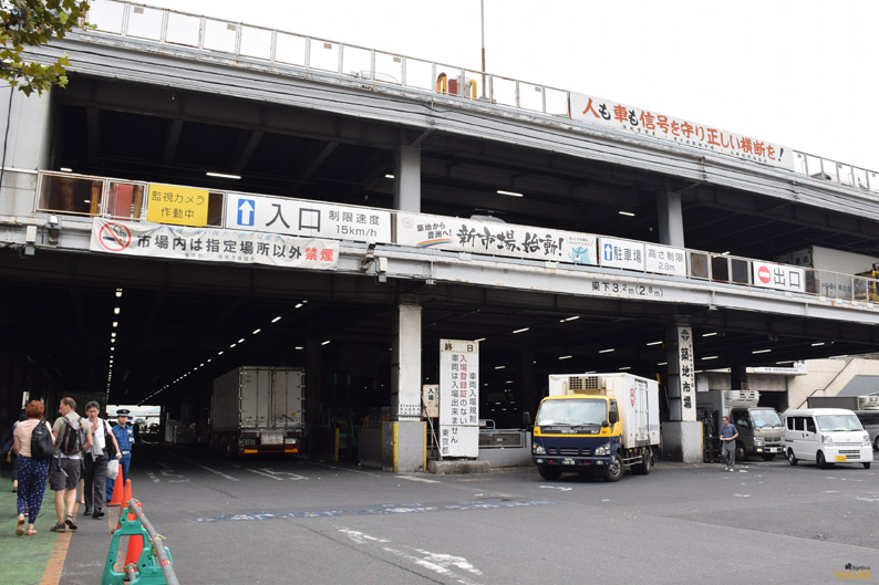 Mercado Tsukiji. Tokio