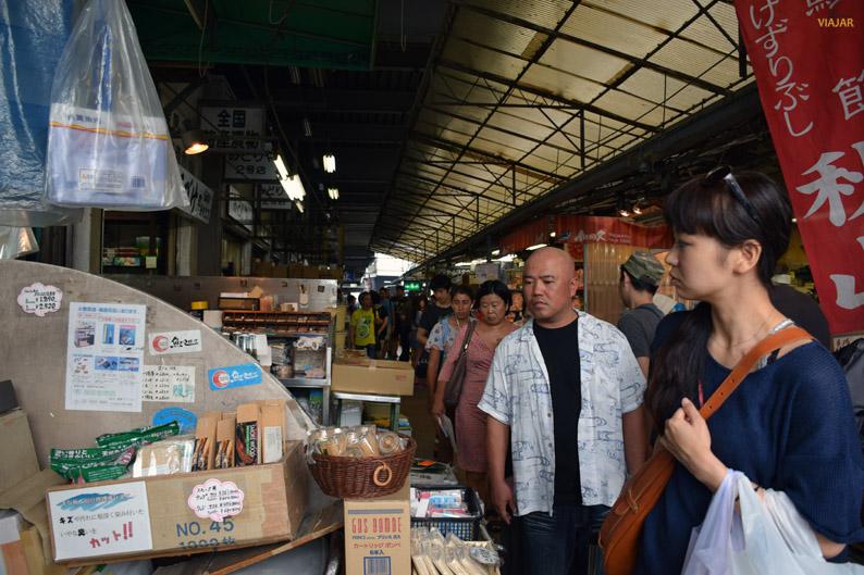 Mercado exterior de Tsukiji