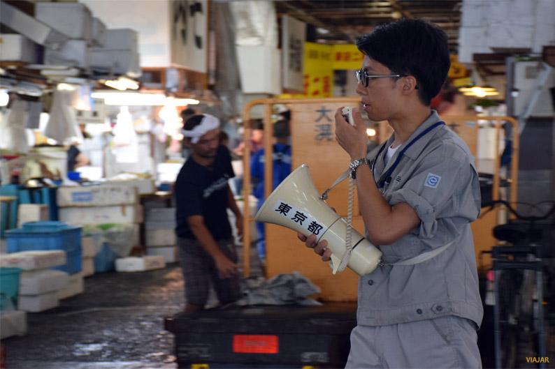 Poniendo orden en el mercado de Tsukiji