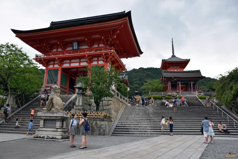 Kiyomizu-dera, Kioto. Japon
