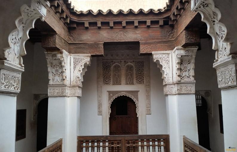 Ali Ben Youssef se fundó en el siglo XIV bajo el reinado benimerín. Marrakech