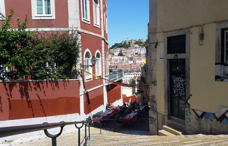Calçada do Duque. Barrio Alto. Lisboa
