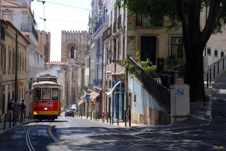 El mítico tranvía 28 de Lisboa