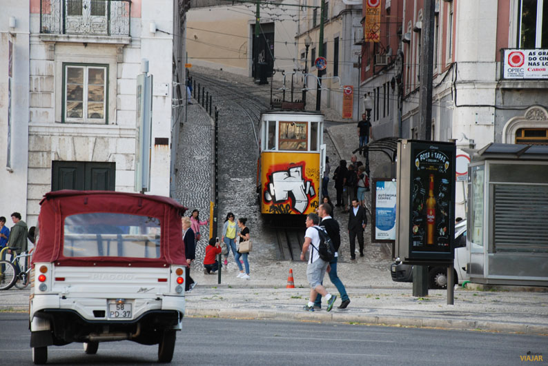 Elevador da Glória. Lisboa