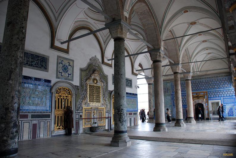 Estancias del Palacio Topkapi. Sultanahmet. Estambul