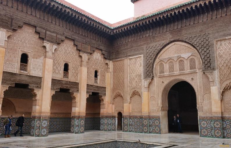 Madraza Ali Ben Youssef. Que visitar en Marrakech