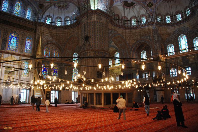 Mezquita Azul. Sultanahmet, Estambul
