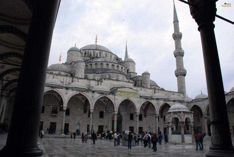 Mezquita Azul. Sultanahmet. Estambul