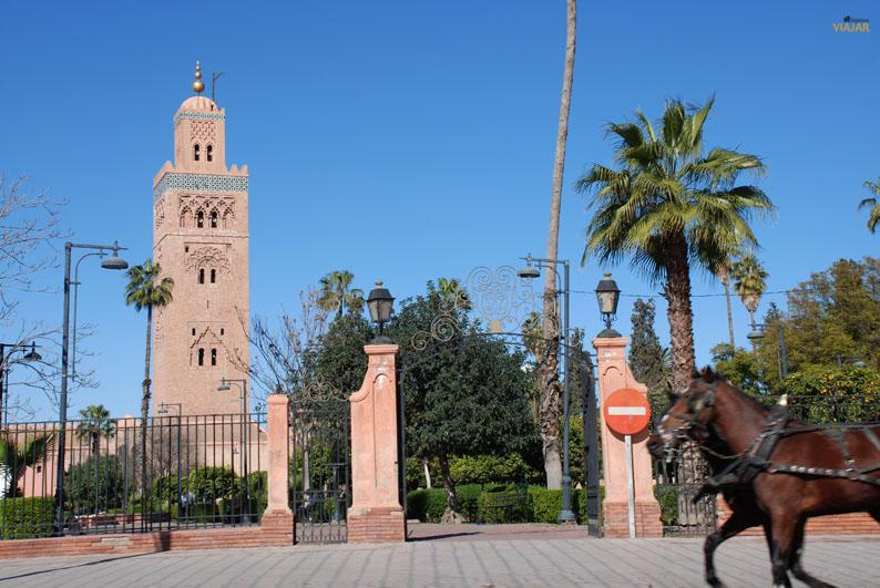 Minarete de la Koutoubia. Marrakech