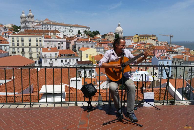Mirador das Portas do Sol. Lisboa