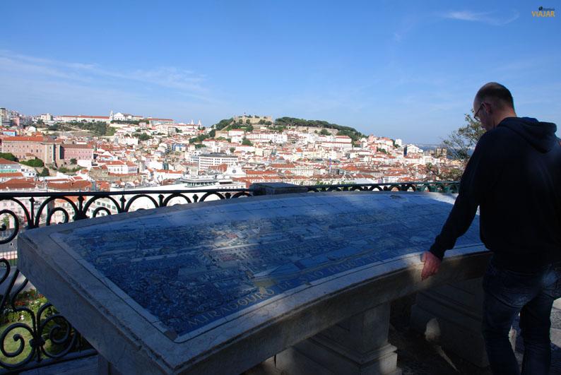 Mirador de San Pedro de Alcántara. Lisboa