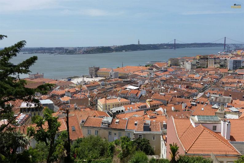 Mirador del Castillo de San Jorge. Lisboa
